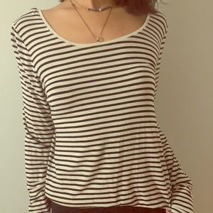 Gap striped Luxe Shirt
